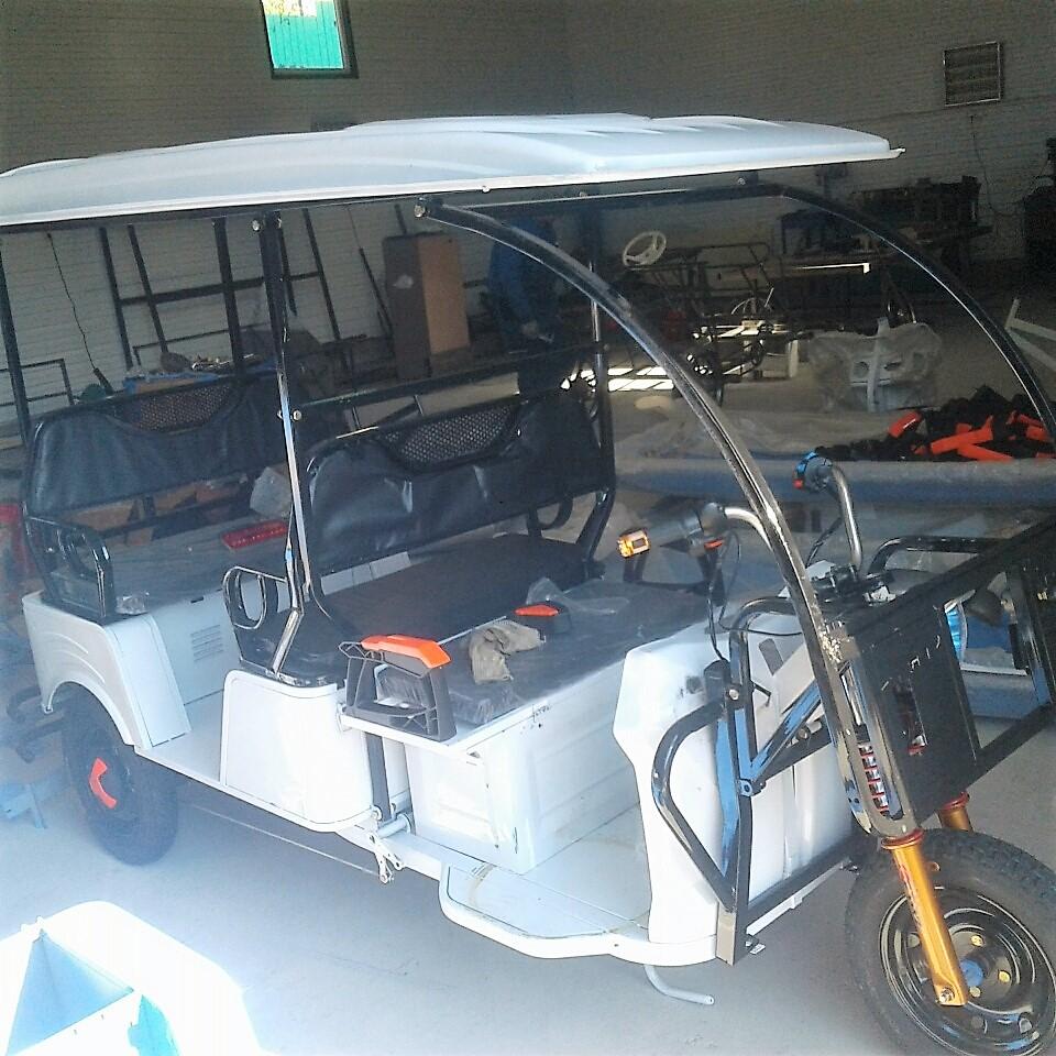 Сборка рикш у нас в цеху